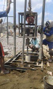 pembuatan sumur bor di berbah sleman jogja